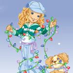 Holly Hobbie - Create-a-Snow Globe