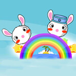Rainbow Rabbit Adventure Hacked: Invincible