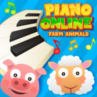 Piano Online Farm Animals