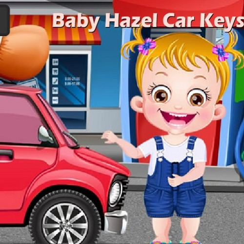 Baby Hazel Car Keys