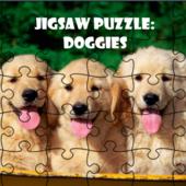 Jigsaw Puzzle Doggies