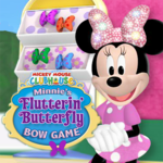 Minnie's Flutterin' Butterfly Bow Game