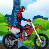 Spiderman Bike Racer