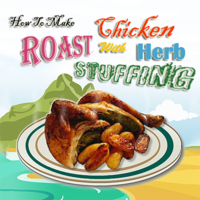 How To Make Roast Chicken With Herb Stuffing