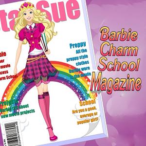 Barbie Charm School Magazine