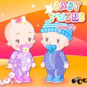 Baby Twins Dress Up