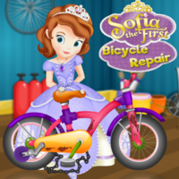 Sofia The First Bicycle Repair