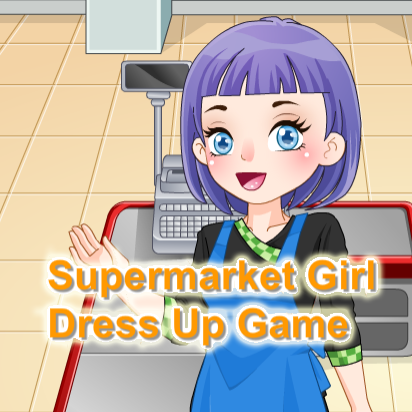 Supermarket Girl Dress Up Game