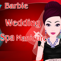 Barbie Wedding Spa Manicure