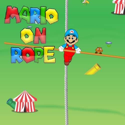 Mario on Rope