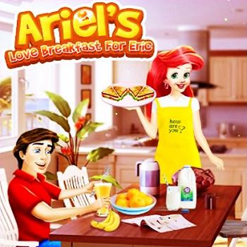 Ariel's Love Breakfast For Eric