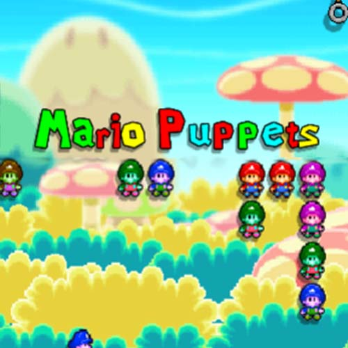 Mario Puppets