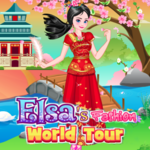 Elsa's Fashion World Tour