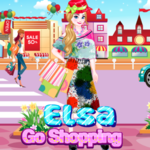 Elsa Go Shopping