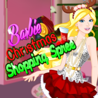Barbie Christmas Shopping Spree