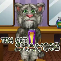 Tom Cat Shaving