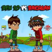 Ben 10 vs Bakugan
