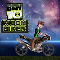 Ben 10 Moon Biker