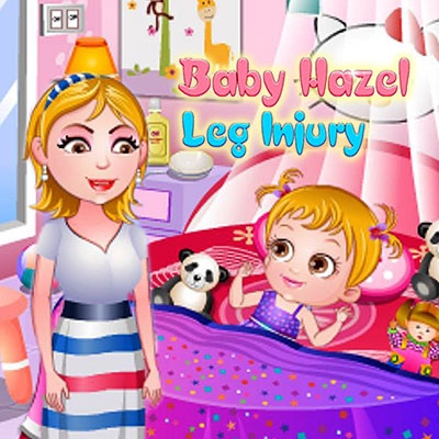 Baby Hazel: Leg Injury
