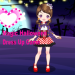 Magic Halloween Dress Up Game