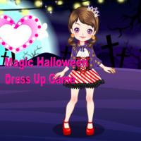 Magic Halloween Dress Up Game