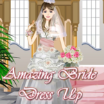 Amazing Bride Dress Up