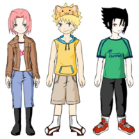 Naruto Character Dress Up