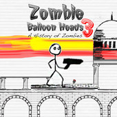 Zombie Balloon Heads 3: A History Of Zombies