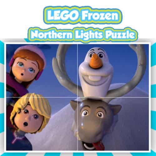 Lego: Frozen Northen Lights Puzzle