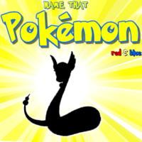 Name That Pokemon: red and blue