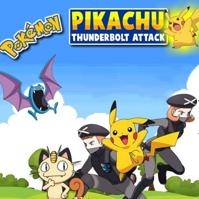 Pokemon: Pikachu Thunderbolt Attack