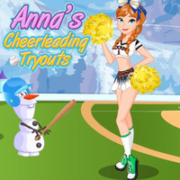 Anna's Cheerleading Tryouts