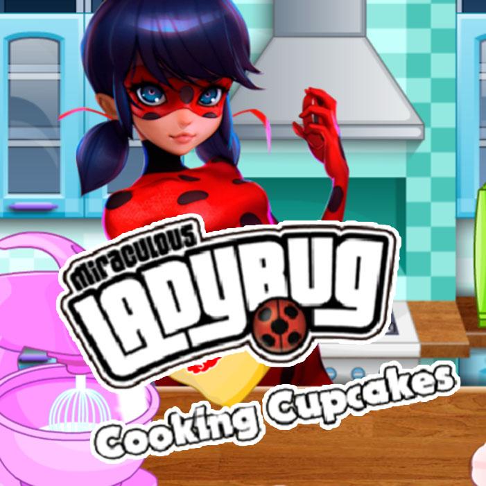 Miraculous Ladybug: Cooking Cupcakes