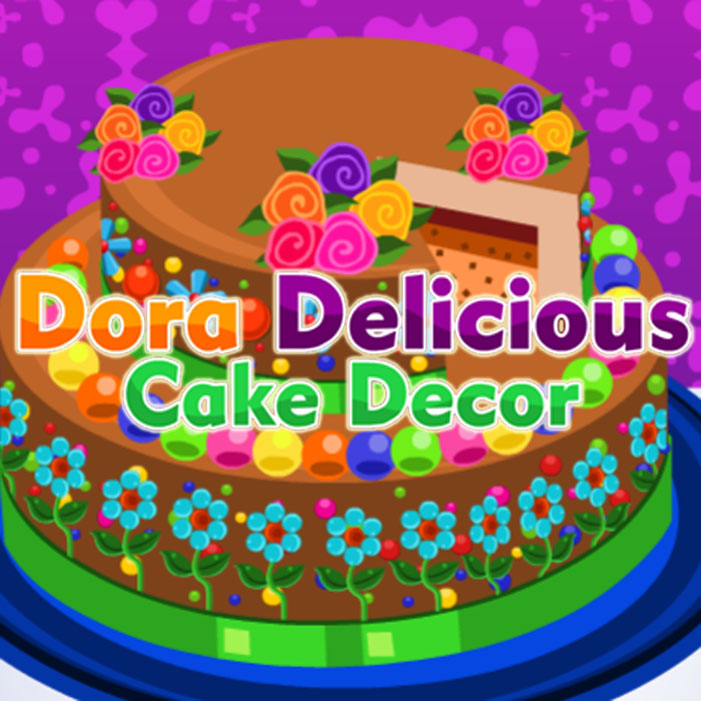 Dora: Delicious Cake Decor