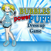 Bubbles Power Puff: Dress Up Game