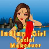 Indian Girl Facial Makeover