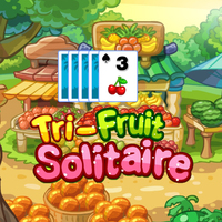 Best New Giochi,Tri-fruit Solitaire is one of the Solitaire Games that you can play on UGameZone.com for free.   Remove cards that are 1 higher or lower then the open card at the bottom. Enjoy and have fun!