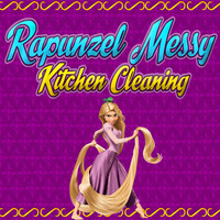 Rapunzel: Messy Kitchen Cleaning