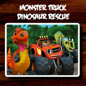 Monster Truck Dinosaur Rescue
