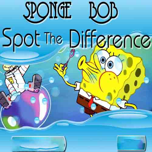 Spongebob: Spot The Difference