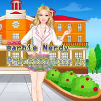 Barbie Nerdy Princess Dess Up