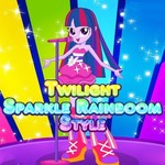Twilight Sparkle Rainboom Style