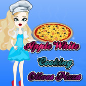 Apple White: Cooking Olives Pizza