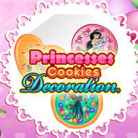 Princesses Cookies Decoration