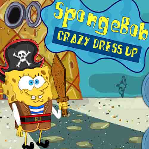 Spongebob: Crazy Dressup