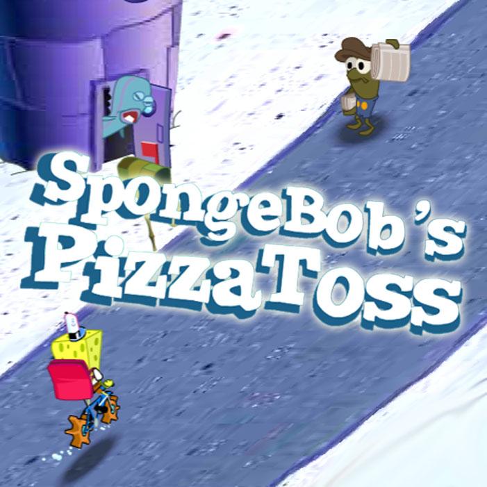 SpongeBob's Pizza Toss