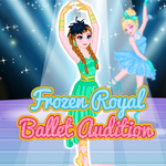 Frozen Royal Ballet Audition