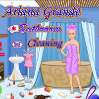Ariana Grande: Bathroom Cleaning