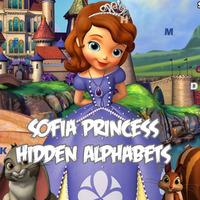 Sofia Princess Hidden Alphabets