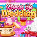 Cleaning Up Wedding